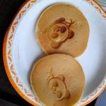 cafe HIBIKI - 妻が頼んだパンケーキ