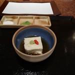 京都 天ぷら圓堂 - 湯葉豆腐
