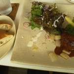 モン ボン カフェ - ハンバーグプレート