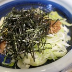 丸亀製麺 - (2019/8月)旨辛肉つけ