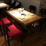 ビア トレイル - 4名様のテーブル