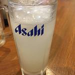 大衆酒場 ゑびす - 大根(おろし)チューハイ。さっぱりで美味い!