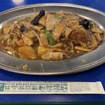 ラッキーピエロ - あんかけ焼そば(690円)
