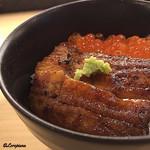 浜味屋 - 鰻いくら丼