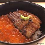 浜味屋 - いくら鰻丼