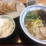 みよし家 - ラーメン餃子ランチ