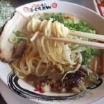 ふくちあん - 料理写真:細ストレート麺