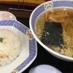 駅前食堂 - 炒飯セット¥650