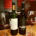 モア・クッチーナ - メインの赤ワイン2種