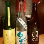 モア・クッチーナ - 日本酒たち