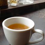 コラボ - セットのスープ