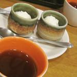 創作中華料理 縁 - 食後のデザート・中国茶。