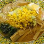 越後川口SA上り線スナックコーナー - 味噌ラーメン