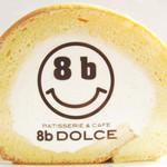 8b DOLCE - 8bロールの断面。