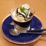 オリ トウキョウ カフェ - 本日のお菓子(700円) この日はコーヒーゼリーでした