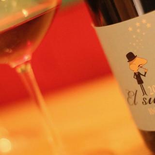 様々な年代の、本当に美味しいスペインワインが揃っています。