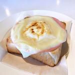 カフェ デイ - 料理写真:ミニトーストは+220円でハムチーズに出来たりします。