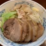 らーめん 陸 - 料理写真:豚増し 背脂 カラメ
