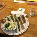 Tea House TAKANO - HEALTHY SANDWICH(ヘルシーサンドイッチ)