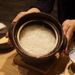 泉岳寺前 瀧口 - 土鍋誉炊きご飯