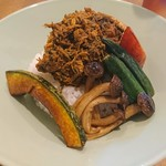 カイエン オルタナ - 料理写真:オルタナ風パダン野菜カリー(980円)