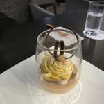 グランジュール - 安納芋のグラスデザート