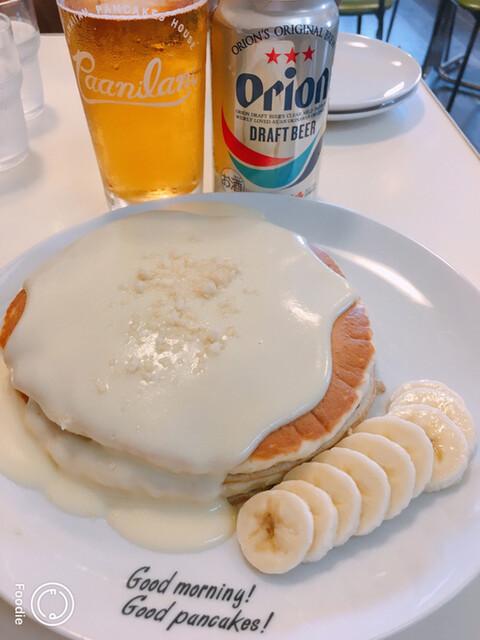 ハワイアンパンケーキハウス パニラニ - ナッツナッツパンケーキ 900円