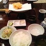 11747950 - 海老ほたてかき揚げ定食