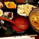 美々卯 - 大えび天ぷらセット