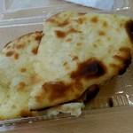 デリーガーデン - 料理写真:チーズナン。カレーは美味しいと噂聞いた!
