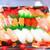 マックスバリュ - 料理写真:生寿司・錦 20貫 1450円(税込)蓋を取って【2019年10月】