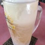 中華料理 萬福 - 生ビール。