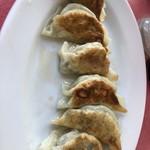 中華料理 萬福 - 餃子。縦写りですみません。