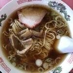 中華料理 萬福 - ラーメン。
