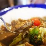 カリーライス専門店エチオピア - 料理写真:チキン+野菜カリー