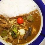 カリーライス専門店エチオピア - チキン+野菜カリー