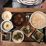 神楽坂 茶寮 - 季節のおばんざい3種セット