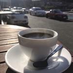 海カフェ イン ニシウラ - 湯気の映る季節に