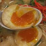 拉麺 豚平 - 煮卵