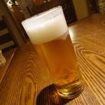 ラ・パウザ - ランチグラスビール