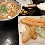 117480453 - 魚フライエビフライ定食
