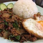 アジアン キッチン カフェ ももふく - 料理写真:・ガパオライス