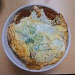 千楽 - 2019年10月 かつ丼(上) 1350円