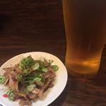 主水 - 料理写真:お通し(ひねぽん)