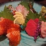 米と魚 酒造 米家ル - 料理写真:三種盛り合わせ