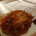 米と魚 酒造 米家ル - 料理写真:桜エビと玉ねぎのかき揚げ