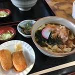 名古屋城きしめん亭 - いなり寿司セット