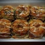 たこ焼きえっちゃん - 料理写真:たこ焼き(超激辛)¥400