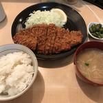 とんかつ 三田 - サービス定食(夜)