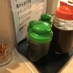 とんかつ 三田 - 調味料